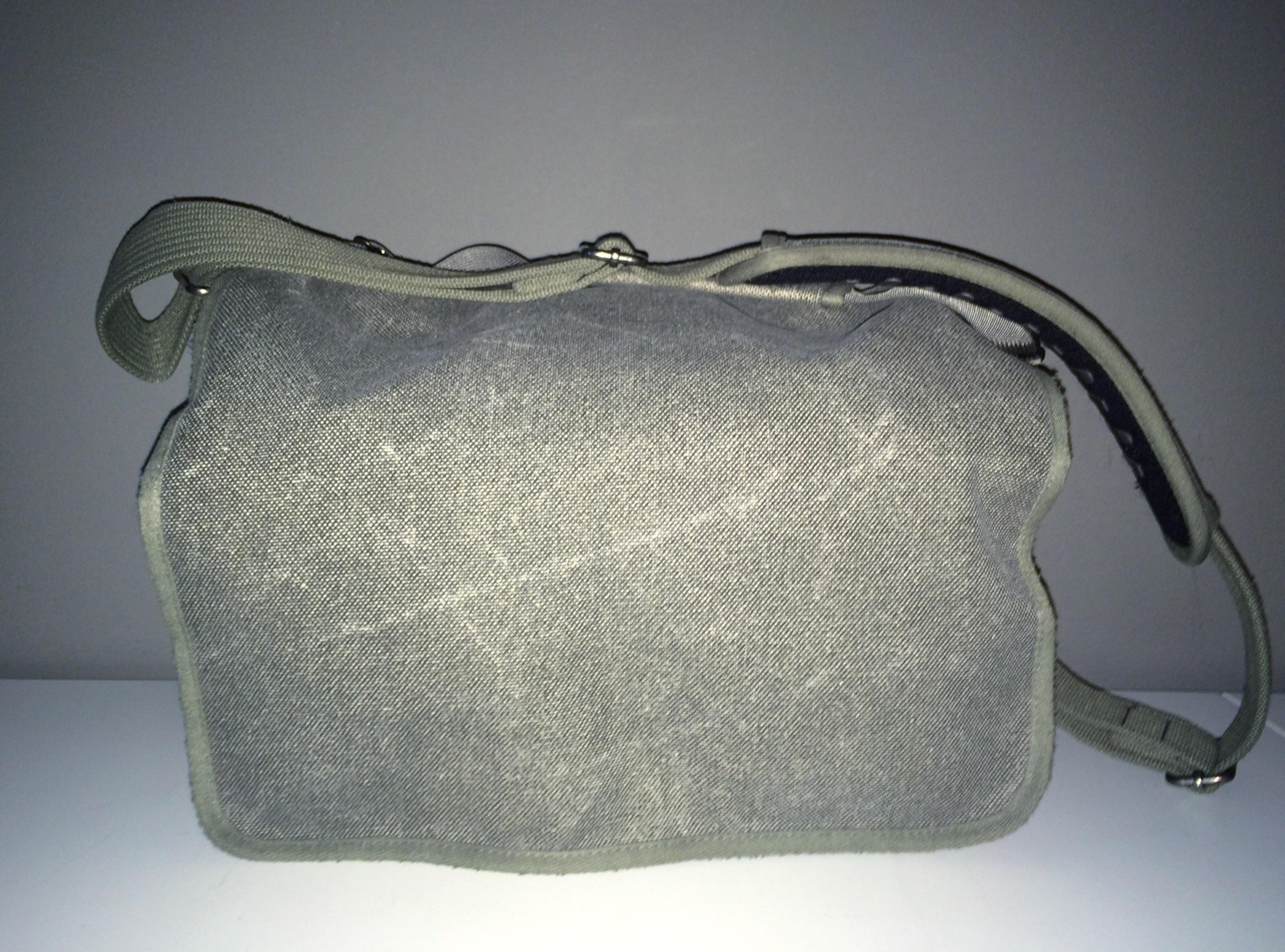 Den här väskan använder jag när jag har Hasselbladsutrustningen med mig på jobbet.