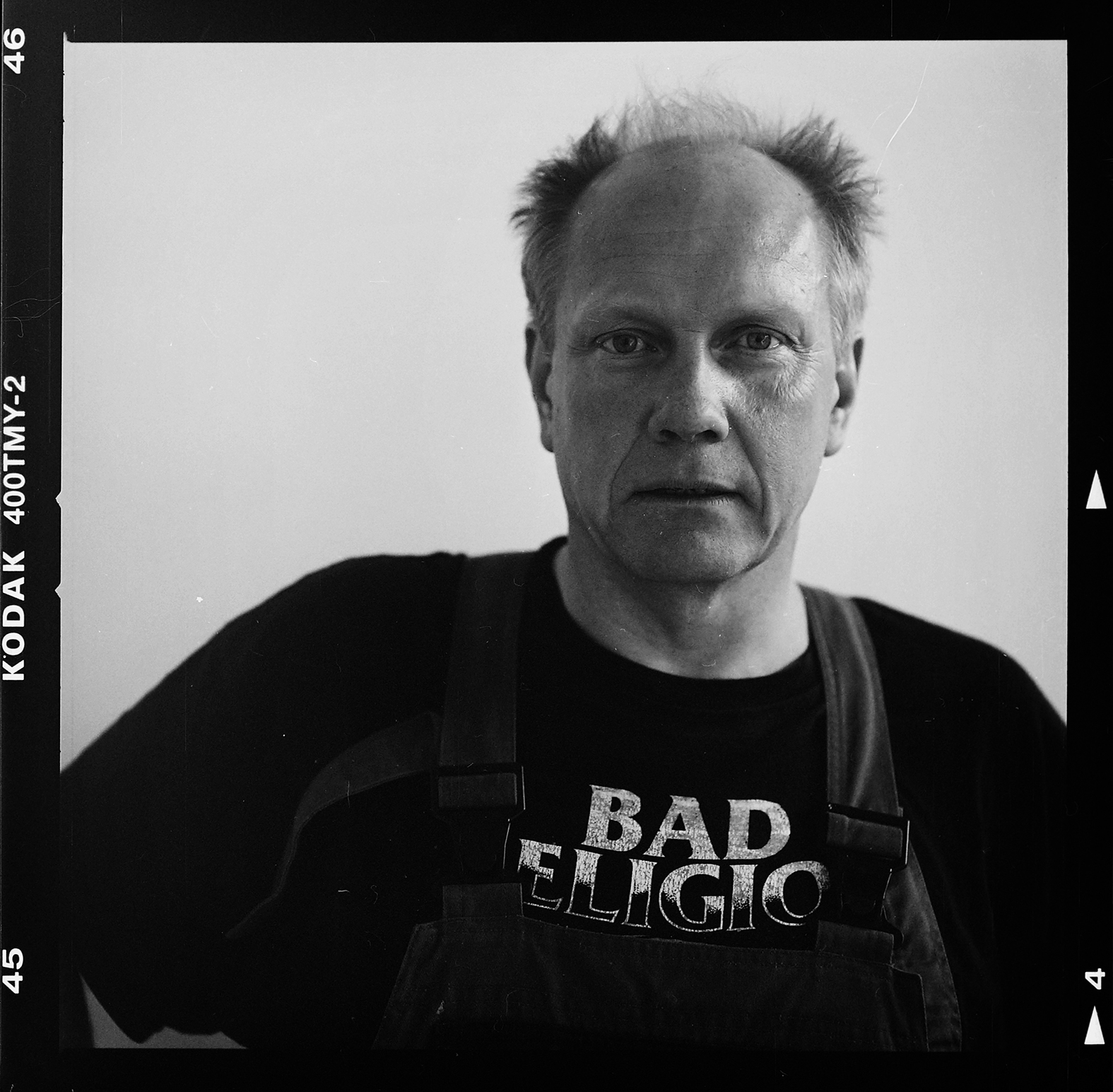 Konstnär Peter Johansson. Foto: Mikael Andersson, 2016-005-19, Hasselblad 500cm, 150 mm, f5,6-1/500