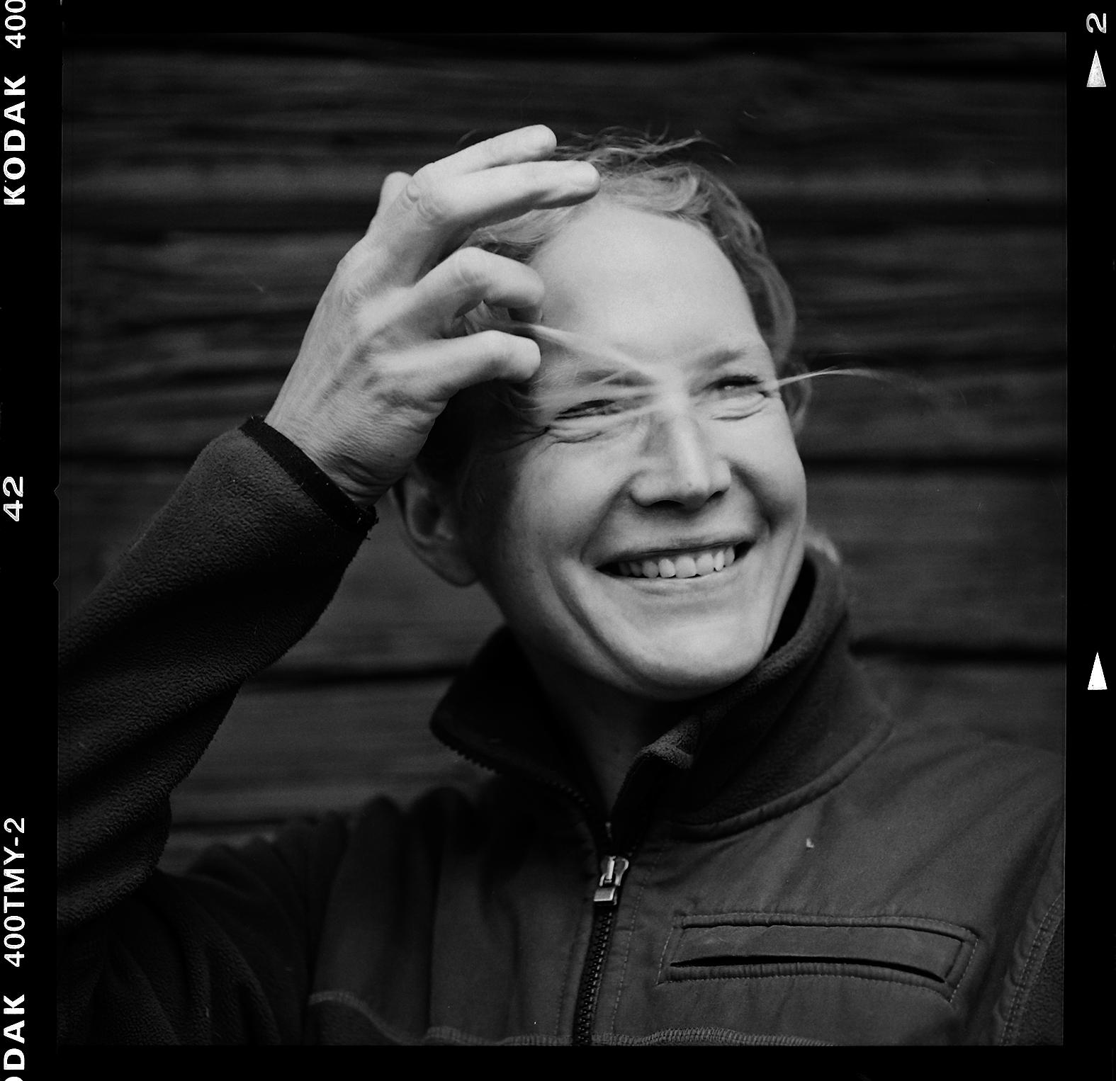 Sofia Nilsson. Foto: Mikael Andersson, 2016-05-18, Hasselblad 500 cm, 150 mm, f4-1/250 sek,