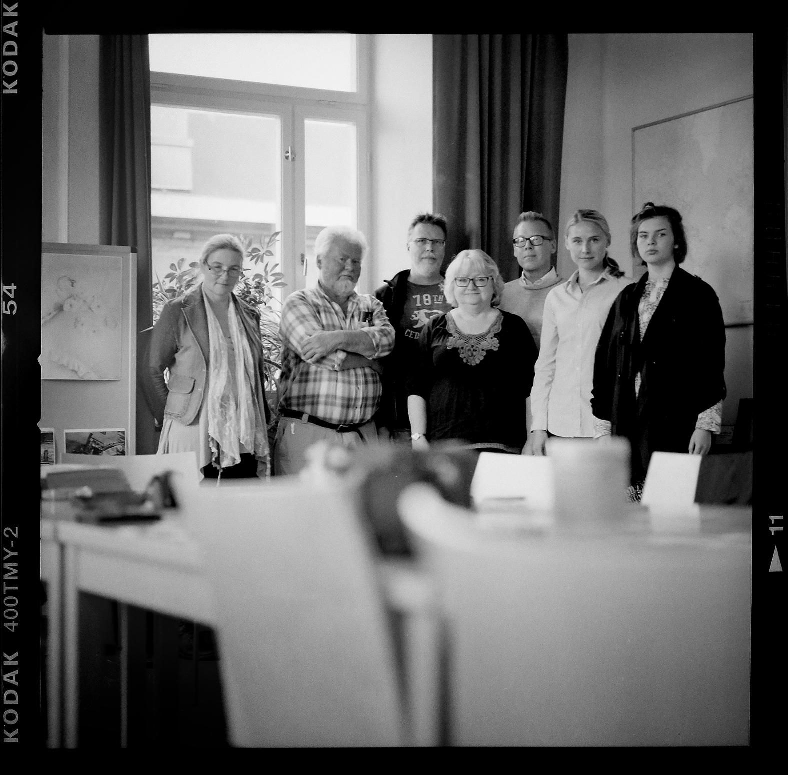 Hasselblad och jag på Eskilstunafolkhögskola. Foto: Mikael Andersson, Hasselblad 500 CM.