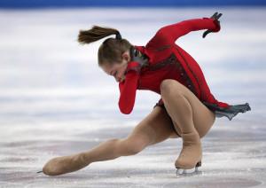 Julia Lipnitskaja, Ryssland. Foto: TT